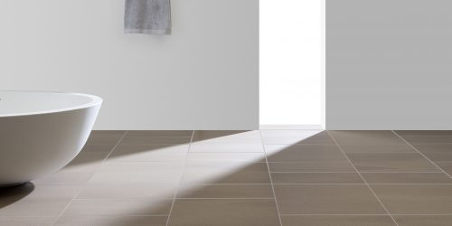 Mosa solids brown bathroom tiles