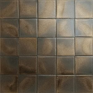 Bronze glazed tiles