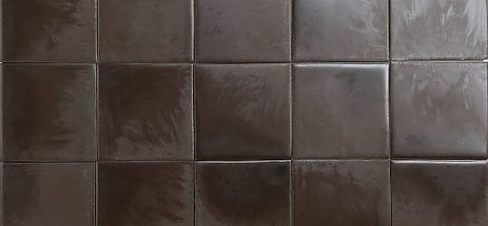 Brown textured glazed tiles