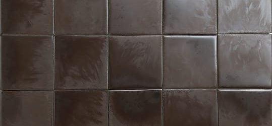 Brown textured glazed tiles