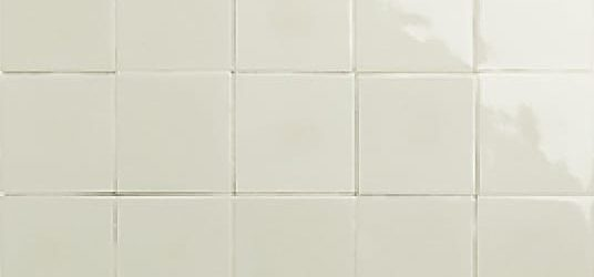 Clear with crackle glazed tiles