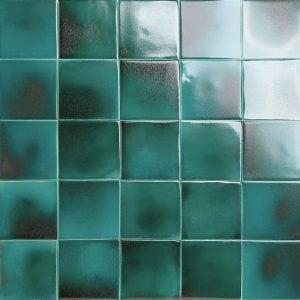emerald glazed tiles