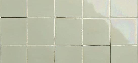 iridescent butter yellow glazed tiles