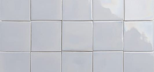 iridescent light blue glazed tiles