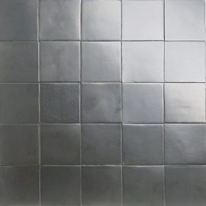 matt nickel glazed tiles
