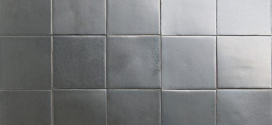 matt nickel glazed tiles