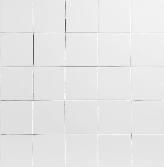 matt white glazed tiles